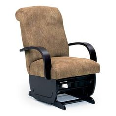 Choose a traditional glider rocker. Or how about a contemporary glider rocker? Every Best Home Furnishings glider rocker c Hall Furniture, Goods Home Furnishings, Glider And Ottoman, Lounge Chair, Relax, Glider Rockers, Green Fabric, Gliders, Recliner