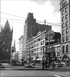 King + James looking south....mid '50's.