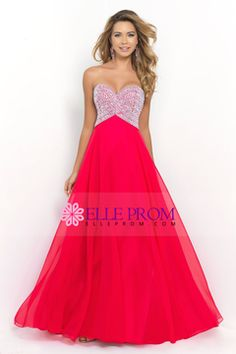 2015 Sweetheart A-Line/Princess Prom Dress Beaded Bodice Chiffon USD 214.99 EPPLSFZMXM - ElleProm.com