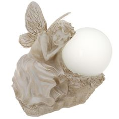 This enchanting fairy collects solar energy during the day and awakens at dusk for up to six hours of light. Illuminate your garden, walkway, patio, or interior room with this magical orb.