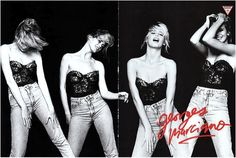 Claudia Schiffer for Guess jeans