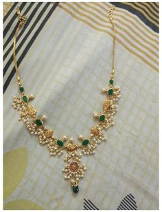 Pearl Necklace Designs, Jewelry Design Earrings, Gold Earrings Designs, Gold Bangles Design, Beaded Jewelry, Simple Necklace Designs, Beads Jewellery Designs, Gold Haram Designs, Pearl Jewelry