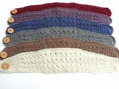 crochet headbands patterns
