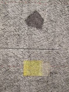 """Dorothy Caldwell Map without words , 2013; Photo © Karen Thiessen, 2014 With dimensions a staggering 9'4"""" by 8'5"""", Map without words ..."""