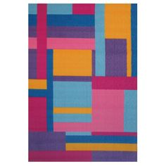 Tetris Multi-colored Accent Rug (1'6 x 2'4) - Overstock™ Shopping - Great Deals on Accent Rugs