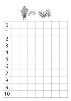 Use this to make my own tracing cursive sheet Printable Math Worksheets, Kindergarten Math Worksheets, Worksheets For Kids, Preschool Writing, Numbers Preschool, Preschool Activities, Montessori Math, Writing Exercises, Math For Kids