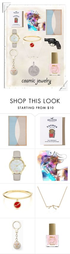 """Taurus Everything"" by papillon-ze-cat ❤ liked on Polyvore featuring Hollister Co., Kate Spade, Imagination Illustrated, ncLA, Pernille Corydon, jewelry, Taurus and taurusjewelry"