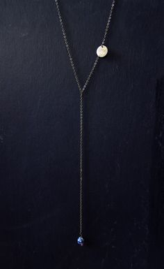 30% off - Long lariat necklace - Limited Edition from Mai Autumn