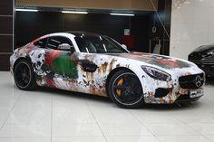 Mercedes AMG GT wicked rusty panda