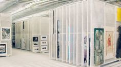 Panel, paneles, diapositivas, suspendido, almacenamiento, pintura, pinturas, ropa de mesa, tablas, marcos, Acuarela Pintura Arte, el Museo