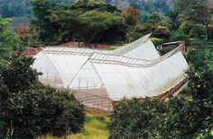 Guadua Bamboo Greenhouses in Colombia by Marcelo Villegas | Courtesy: arc10studio