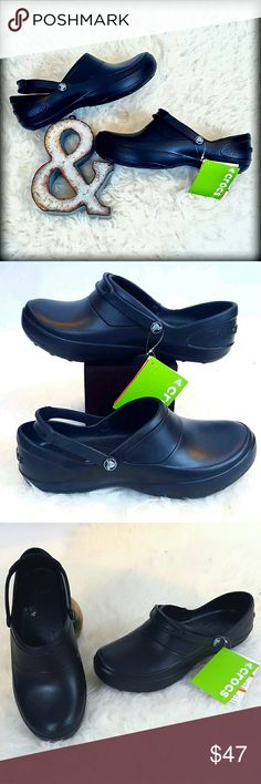 bfaa6e65fca244 30% 2NWT 11 Crocs Mercy Work Black Clogs Shoes Crocs Mercy Work Women s  Size 11 Black Shoe Size  Women s 11 Color  Black MSRP   44.99 Condition   New with ...