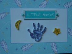 Little Hands Baby Card