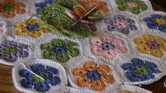 African Flower Blanket | Busymitts