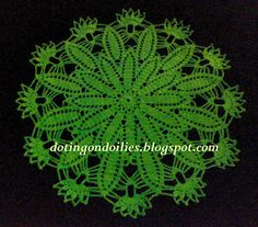 Doting on Doilies: Model Doily