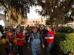 Hinesville Ga Scarecrow Stroll
