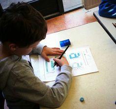 Een les om tekenningen te vertalen naar code's en met deze codes weer tekeningen te maken. Computational Thinking, 21st Century Skills, Kids, Young Children, Boys, Children, Children's Comics, Boy Babies, Kid