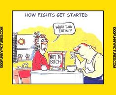 How Fights Get Started - Funny Cartoons