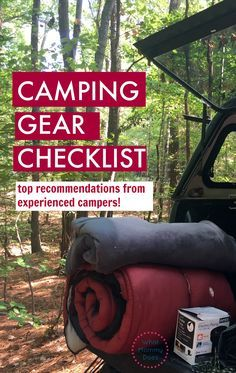 If you're going on a family camping trip anytime soon, make sure you READ THIS FIRST! I wish someone had told me to bring these must-have things the first time I went camping. It's a checklist of the smack-you-on-the-forehead things you need to know to pa
