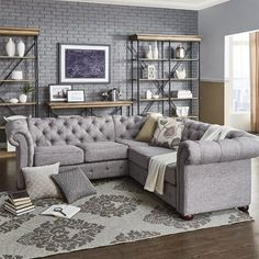 Having small living room can be one of all your problem about decoration home. To solve that, you will create the illusion of a larger space and painting your small living room with bright colors c… Coastal Living Rooms, My Living Room, Living Room Furniture, Home Furniture, Living Room Decor, Furniture Sets, Furniture Online, Furniture Layout, Furniture Stores