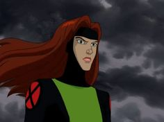 If you could see Jean Grey in a relationship with someone, even though temporarily, who would it be with and why? Someone that made her character interesting to me for the first time pretty much ever… I kind of hate to say it because I am a huge X. X Men Comics, Marvel Comics, Marvel Cartoons, Jean Grey, X Men Evolution, X Men Storm, X Men Mystique, X Men Marvel, Rockabilly Fashion
