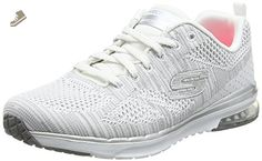 Skechers Women's Skech-Air Infinity Stand Out Lace Up Fashion Sneaker White 7 M US - Skechers sneakers for women (*Amazon Partner-Link)