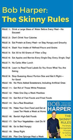 You can definitely lose weight fast - either follow Bob Harper's The Skinny Rules - or make these 12 changes to your habits - you'll see yourself dropping 20 pounds in no time.