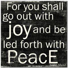 RedLetterWords.com // Isaiah 55:12
