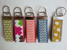 Keyfobs Craft Stalls, Handmade Accessories, Personalized Items, Crafts, Craft Booths, Manualidades, Crafting, Handmade Crafts, Wall Art Crafts