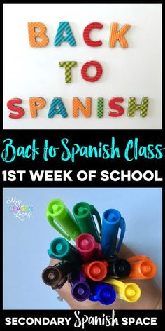 1533 best spanish 12 images on pinterest learn spanish learning back to school spanish class what to do the 1st week of school in your fandeluxe Image collections