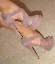 Lovely straps high heel #sandals