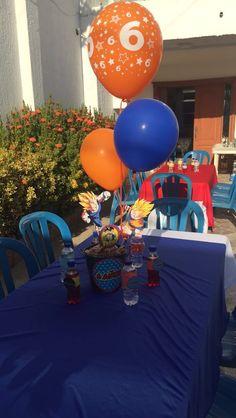 Dragon Ball Z, Birthday Cake, Desserts, Food, Dragons, Dragon Dall Z, Tailgate Desserts, Deserts, Birthday Cakes