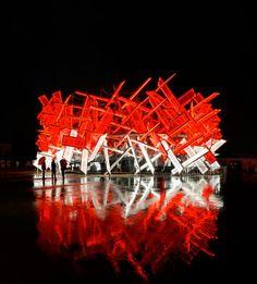 Olympic Pavilion Coca - Structure + Interactivité