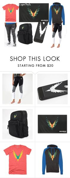 """""""Logan Paul's Classic Maverick Merch"""" by trix-g ❤ liked on Polyvore featuring BeAMaverick and logang4life"""