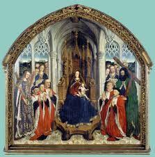 La virgen de los consejeros, Lluís Dalmau