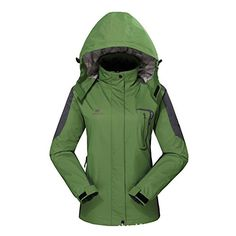 Diamond Candy Hooded Softshell Waterp…