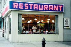 """""""Monk's Restaurant, Seinfeld"""". New York."""