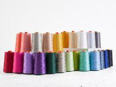 Aurifil 50wt Cotton Mako Thread 6,462 Yard Cones
