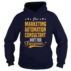 Marketing Automation Consultant 1  LIMITED TIME ONLY. ORDER NOW if you like, Item Not Sold Anywhere Else. Amazing for you or gift for your family members and your friends. Thank you! #marketing #shirts