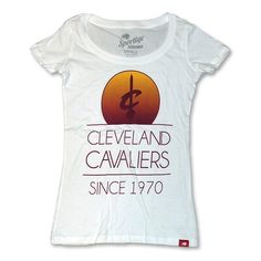 Cleveland Cavaliers Malibu Scoop Neck T-Shirt $28.00 SALE $9.99