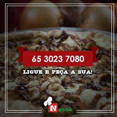 Fim de semana tem que ter pizza, aproveite e ligue pro nosso delivery. Ligou chegou!  Nós atendemos e reservamos das terças aos domingos a partir das 18 horas.  #nossapizza #delivery #reservas #atendimento #terçasaosdomingos #pizza #delícia #pediuchegou #surpreenda #peçajá #vontadedecomer  Nosso Delivery: (65) 3023-7080  Nossa Pizza Centro  Av. Presidente Marques , N°830, Centro Norte  Cuiabá, MT