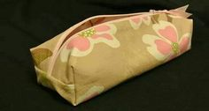 Hey, I found this really awesome Etsy listing at https://www.etsy.com/listing/220357411/floral-print-pencil-make-up-craft-case