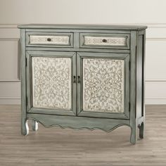 House of Hampton Mae Tehya 2 Drawer Cabinet & Reviews | Wayfair