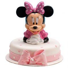 Una figura original para la tarta de comunión para los niños amantes de Minnie