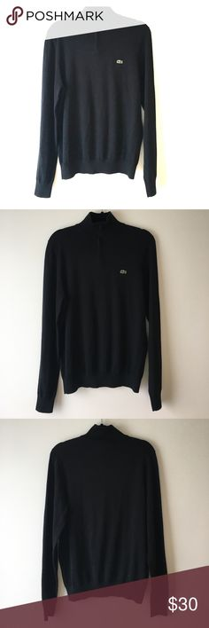 NWT LACOSTE SWEATER ZIP DETAIL NWT LACOSTE SWEATER ZIP DETAIL Lacoste Sweaters Zip Up