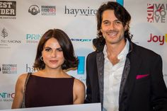 Lana Parrilla and husband, Fred, attend AIDS Vancouver Event.  Sept 2016