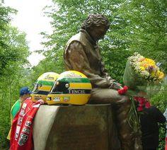 Ayrton Senna memorial at Imola. Cool Sports Cars, Sports Day, Sport Cars, Race Cars, Formula 1, Grand Prix, Sports Cars Lamborghini, F1 Drivers, Racing Team