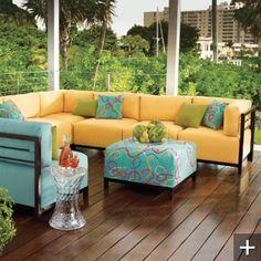 Slipcover Furniture for OUTSIDE