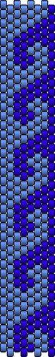 Peyote ring pattern waves by sallaevilincarnate, via Flickr