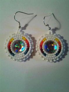 Native American beaded earrings. $20.00, via Etsy.